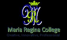 Maria Regina College Logo