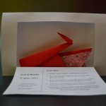 Origami Swan with Seed Paper (2)