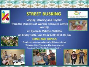 STREET BUSKING EVENT