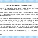 A short profile about Adam Collison[32501]